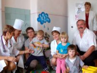 Soutien apporté aux hôpitaux d'enfants de Tchernigov et de Mena