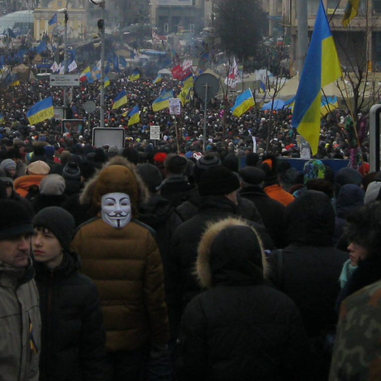 Euromaidan in Kyiv January 19 14 2